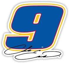 Amazon Com R And R Imports Inc Chase Elliott 9 4 Round Kiss Cut Decal New For 2020 Kitchen Dining
