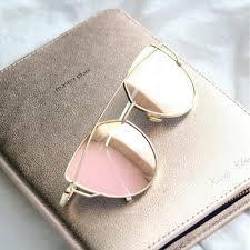 rose colored mirror sunglasses