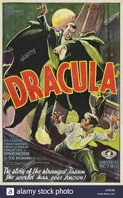 DRACULA 1931 Universal Pictures film with Bela Lugosi Stock Photo ...