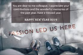 christmas and new year wishes for colleagues