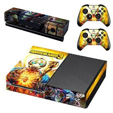 Borderlands 3 Skin Sticker Decal For Xbox One Console And Kinect And 2 Controllers For Xbox One Skin Sticker Vinyl Stickers Aliexpress