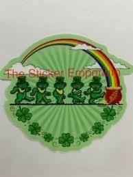 Irish Dancing Bears Sticker Water Bottle Laptop Vinyl Decal Grateful Dead Co Ebay