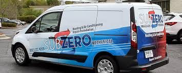 Subzero Van Partial Wrap Tier One Graphics