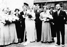Wedding of Edna Smith and Desmond Moody