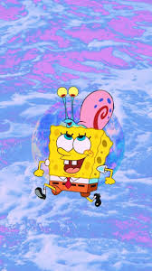 spongebob squarepants cartoon and gary