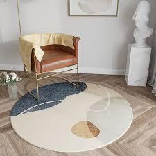 Nordic Round Carpet Livingroom Home Soft Rug Thick Bedroom Carpet Modern Lamb Velvet Study Room Sofa Mat Coffee Kids Room Rugs Carpet Installations Textured Carpets From Sakuna 64 64 Dhgate Com