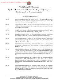 Decreto Dipartimentale n. 560 del 12 maggio 2020 - Miur
