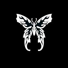 Butterfly Flame Wings Window Decal Sticker Custom Sticker Shop