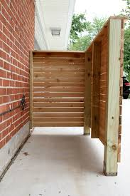 Diy Trash Enclosure 2 House Tweaking Outdoor Trash Cans Backyard