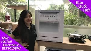 Máy Rửa Bát Electrolux ESF6010BW - YouTube