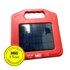 Mgg Solar Electric Fence Energiser 5km 418 Ef S150
