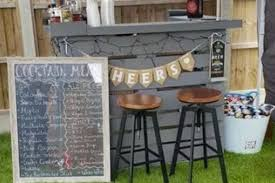 diy dad builds stylish outdoor bar with