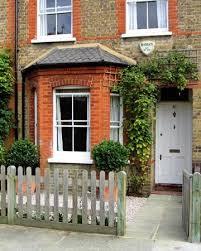 terraced house front garden design