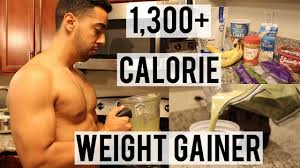 homemade weight gainer shake