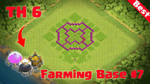 CoC Town Hall 6 Farming Base Layout ...