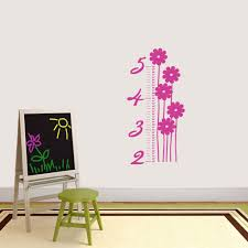 Shop Flower Growth Chart Wall Decal On Sale Overstock 14227451