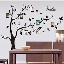 Family Tree Wall Decal Stickers Large Vinyl Frame Art Diy Mural Home Decor
