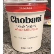 chobani greek yogurt original plain