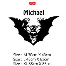 Cá Tính Tên Siêu Nhân Batman Cho Bé Trai Trẻ Em Trang Trí Phòng Vinyl Dán  Tường Giấy Dán Tường Trẻ Em Phòng Decal Dán Tường Bức Tranh Tường|