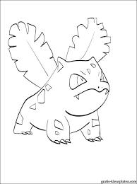 Kleurplaat Met Pokemon Ivysaur Gratis Kleurplaten