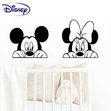 Disney Sticker Mickey Minni And Minnie Mouse Combo Window Decal For Car Truck Motorcycle Laptop Ipad Wall Mickey Minnie Combo Aliexpress