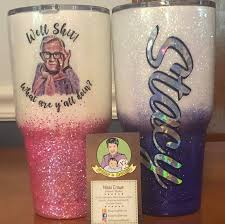Leslie Jordan Tumblers Made To Order You Pick The Color Etsy