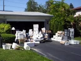 a trash ure trove of garage garbage