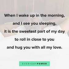 good morning quotes for him celebrating love