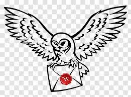 Owl Harry Potter Drawing Clip Art Image Hedwig Flying Transparent Png