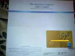 got my free 25 american express gift
