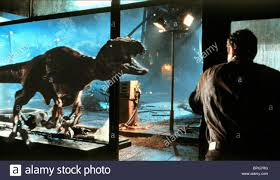 T-REX SCENE THE LOST WORLD: JURASSIC PARK 2 (1997 Stock Photo - Alamy