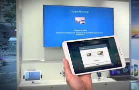 tablet con las teles de samsung
