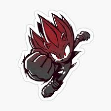 Silver The Hedgehog Stickers Redbubble