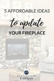 how to update your fireplace 4 easy