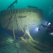 shipwrecks across Great Lakes ...