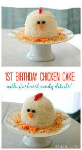 en cake with starburst candy