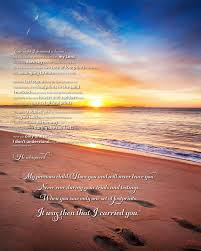 footprints in the sand poem beautiful