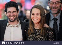 US director Joshua Marston (L-R) and actors Sindi Lacej and Refet ...