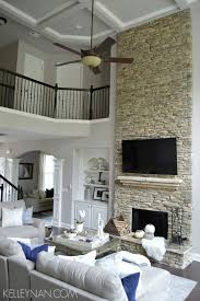 living room decor fireplace
