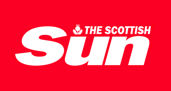 Image result for SCOTTISH SUN logo""