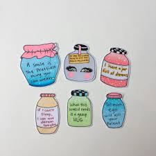 "jars of quotes"" bundle stickers 🌷 % hand depop"