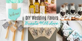 diy wedding favors guests will love