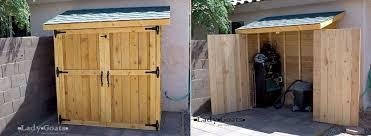 garden storage and organization ideas