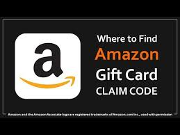 amazon gift card claim code