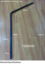 Does Anyone Know Where I Can Find Angled Fence Extension Brackets In New Zealand As Per The Picture Dimensions Can Vary Newzealand
