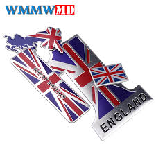 England Flag Car Stickers United Kindom Emblem Uk Badge Decal For Bmw Audi Ford Land Rover Mini Cooper Jaguar Auto Styling Car Stickers Aliexpress