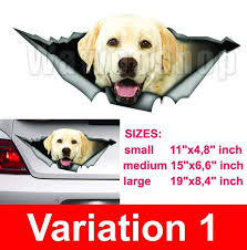 Labrador Car Decal Dog Car Decal Vinyl Decal Car Decoration Lab St Onlineamericanstore