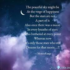 the peaceful sky might be quotes writings by shweta s dasar