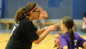 Jenkins helps develop volleyball players at the YMCA