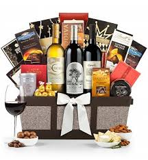 silver oak cabernet basket luxury wine